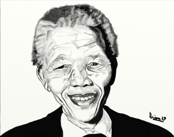 Nelson Mandela by RaissaKP